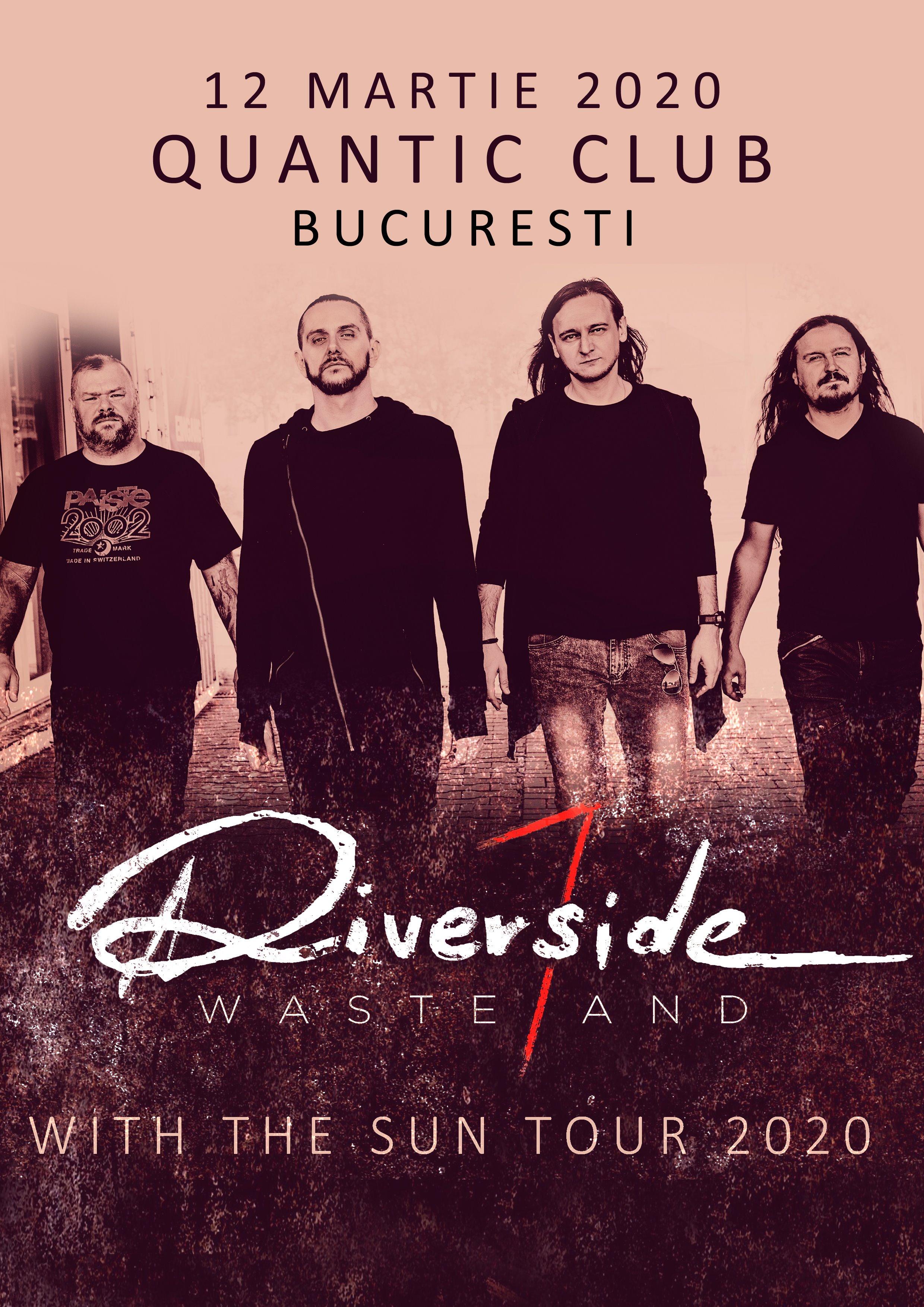 Riverside revine pe 12 Martie în Quantic cu o ediție specială a turneului WASTELAND-WITH THE SUN TOUR 2020