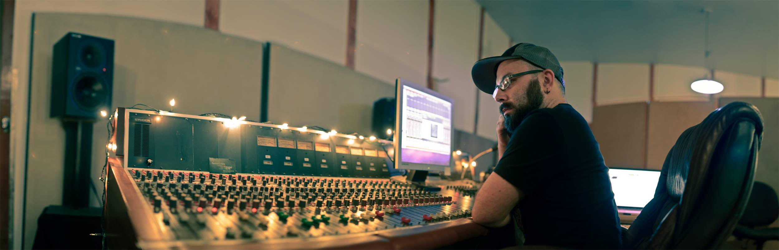 The art of sound engineering with Chris Edrich