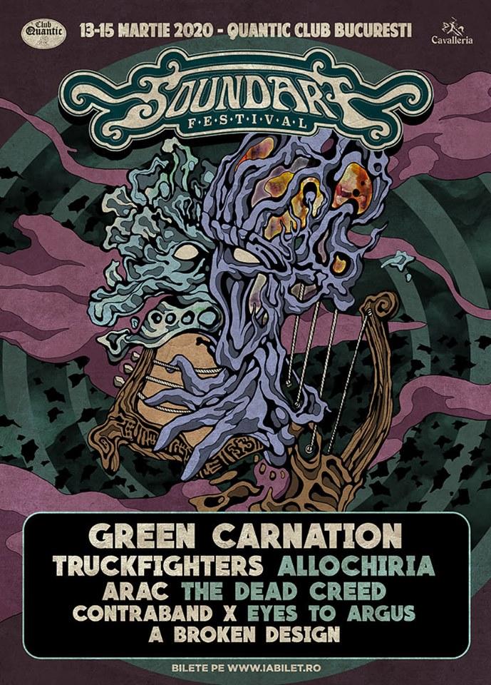 """Soundart Festival 2020 prezintă Green Carnation şi prima ediţie a concursului """"Sound On Paper"""""""